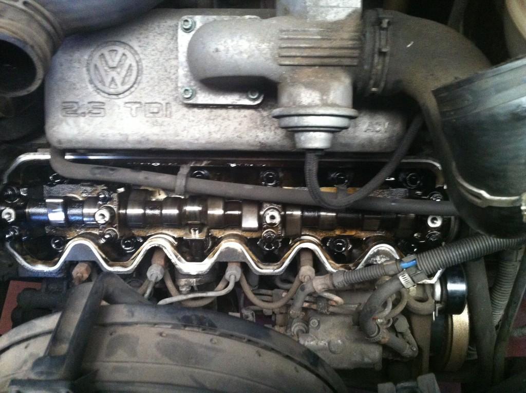 Schurend geluid motor