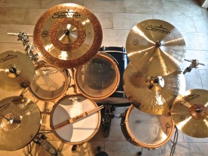Bart's drumkit
